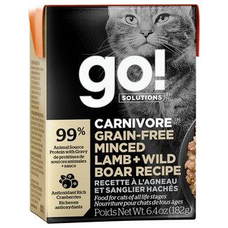GO!Solutions 6.4oz Minced Lamb & Boar