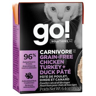 GO!Solutions 6.4oz Chicken, Turkey & Duck Pate