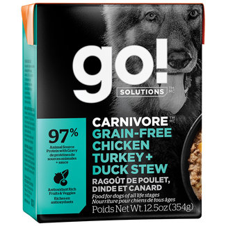 GO!Solutions 12.5oz Chicken, Duck & Turkey Stew