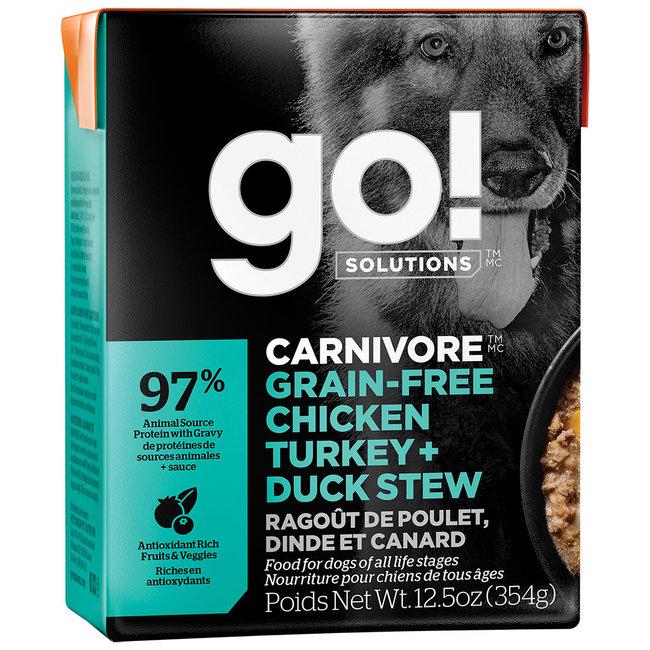 GO!Solutions 12.5oz Chicken, Duck & Turkey Stew