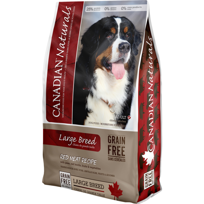 Canadian Naturals 28lbs Large Breed Red Meat Recipe