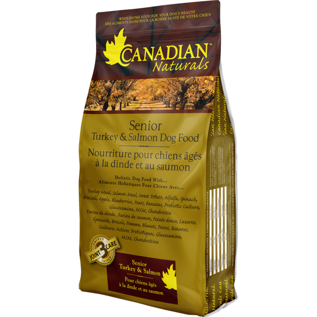 Canadian Naturals Turkey & Salmon Senior