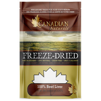 Canadian Naturals 100g Beef Liver