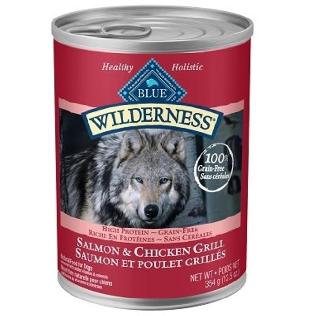 Blue Buffalo 12.5oz Grill Salmon & Chicken