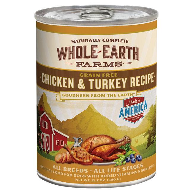 Whole Earth Farms 12.7oz Chicken & Turkey Recipe