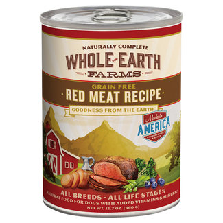 Whole Earth Farms 12.7oz Red Meat Recipe