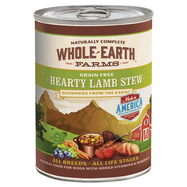Whole Earth Farms 12.7oz Hearty Lamb Stew