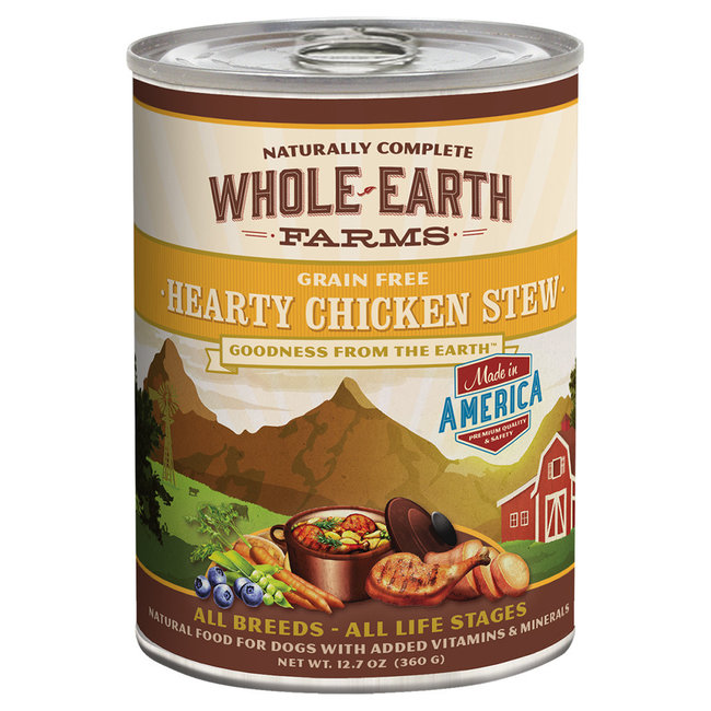 Whole Earth Farms 12.7oz Hearty Chicken Stew