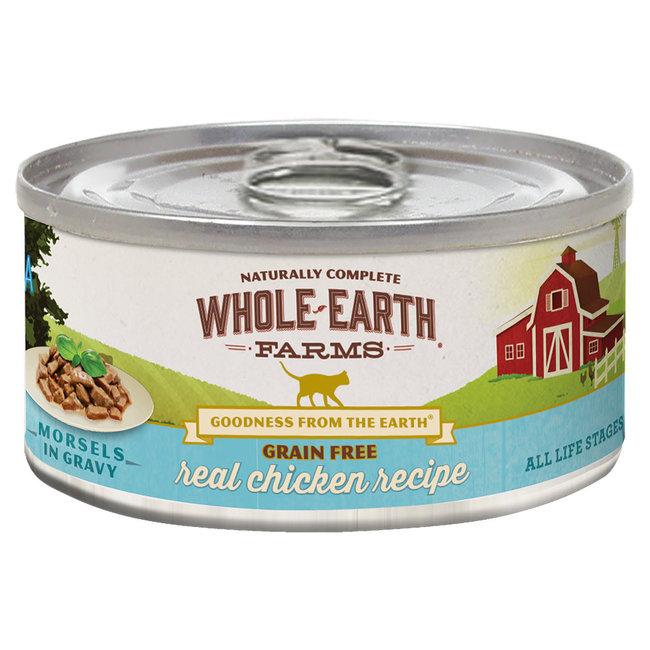 Whole Earth Farms 5oz Chicken Morsels in Gravy
