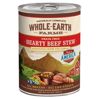 Whole Earth Farms 12.7oz Hearty Beef Stew