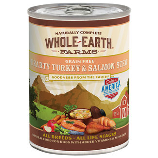 Whole Earth Farms 12.7oz Turkey & Salmon