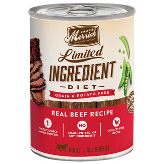 Merrick 12.7oz LID Beef Recipe
