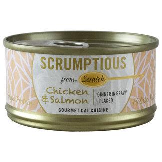 Scrumptious chicken & salmon