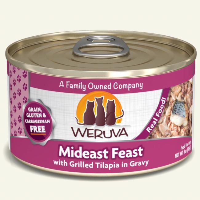 Weruva 3oz Mideast Feast
