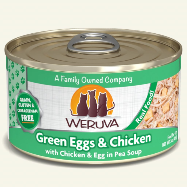 Weruva 3oz Green Eggs & Chicken