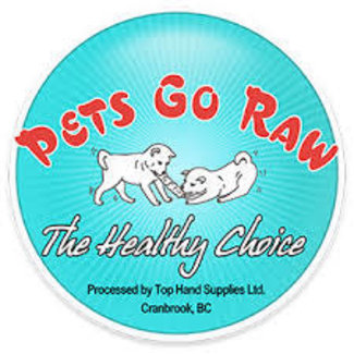 Pets Go Raw 2lbs Cat Beef Meal