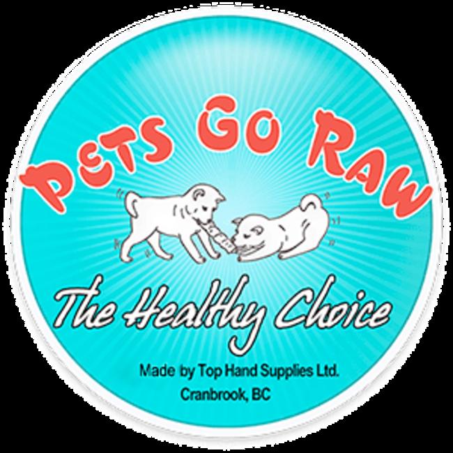 Pets Go Raw 1/2lb Bision Liver Jerky