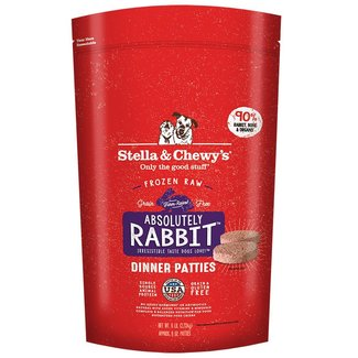 Stella & Chewys 6lbs Absolutely  Rabbit Dinner