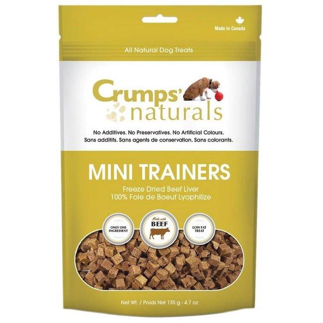 Crumps Freeze Dried Beef Liver Mini Trainers