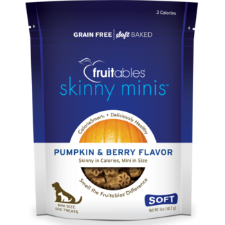 Fruitables 5oz  Chewy Pumpkin & Berry