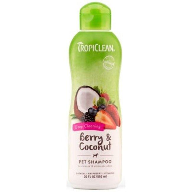 Tropiclean 20oz Berry & Coconut Shampoo