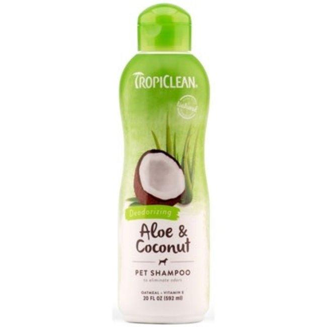 Tropiclean 20oz Aloe & Coconut Deodorizing Shampoo