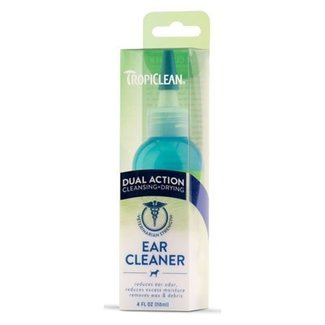 Tropiclean 4oz Dual Action Ear Cleaner