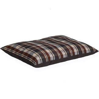 "Midwest 27""x36"" Chocolate Plaid Bed"