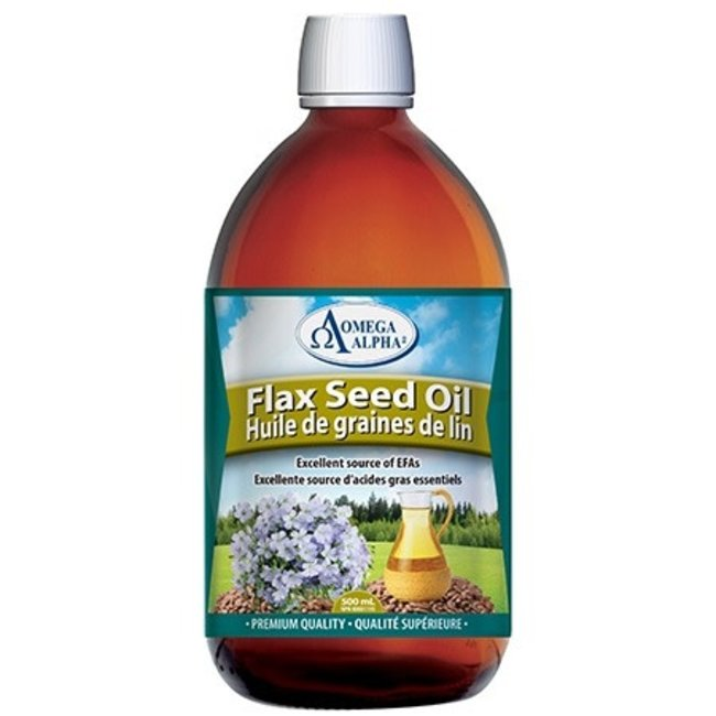 Omega Alpha 500ml Flaxseed Oil