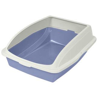 "Van Ness 19x15x4"" Large Litter Pan with Rim"