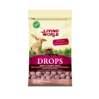Living World 75g Berry Drops