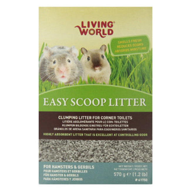 Living World 570g Easy Scoop Litter