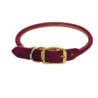 "Coastal 22"" Circle Leather Collar"