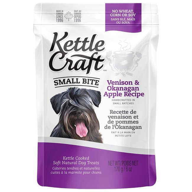 Kettle Craft 6oz Small Bite Venison & Apple