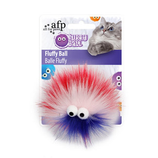 AFP Red Furry Ball