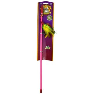 "Amazing Pets 18"" Feather Wand"
