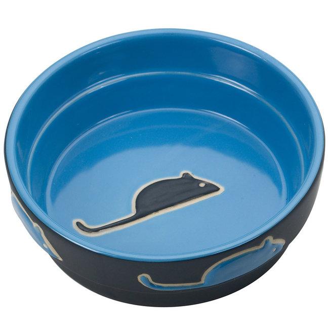"Spot 5"" Blue Fresco Dish"