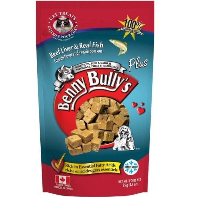 Benny Bully's 25g Beef Liver & Real Fish