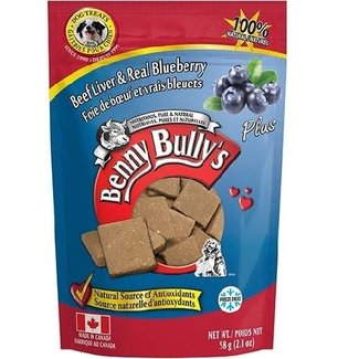 Benny Bully's 58g Real Beef & Real Blueberry