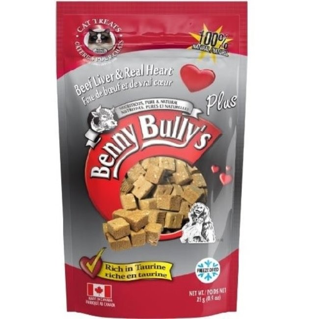 Benny Bully's 25g  Beef Liver & Beef Heart