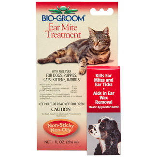 Bio-Groom Ear Mites & Tick Treatment
