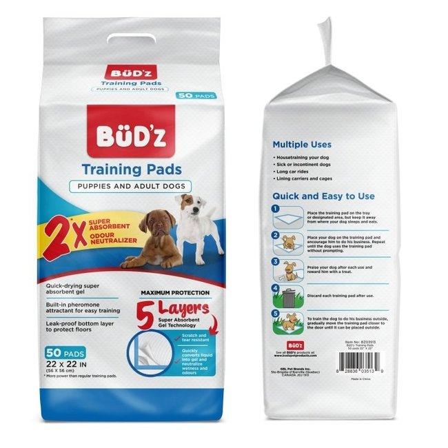 Budz 50 Pack Training Pads