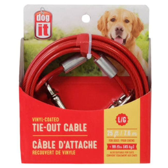 Dog It Tie Out Cable