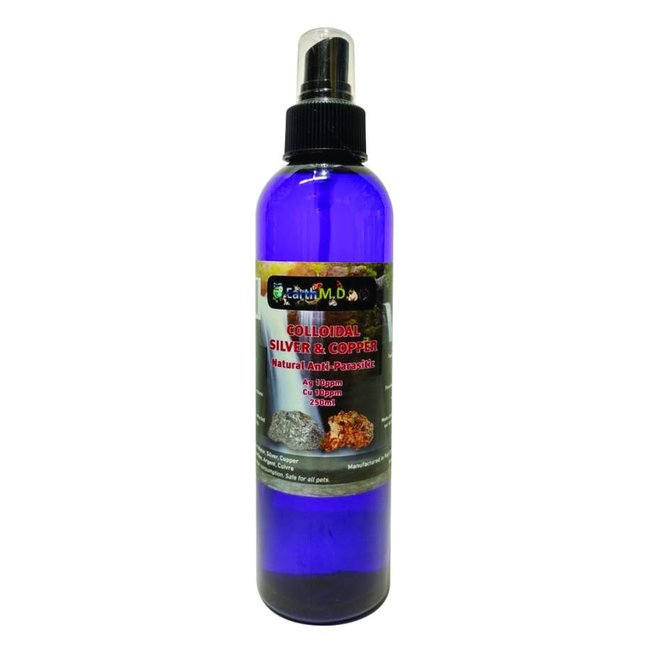 Earth MD Colloidal Silver & Copper Spray