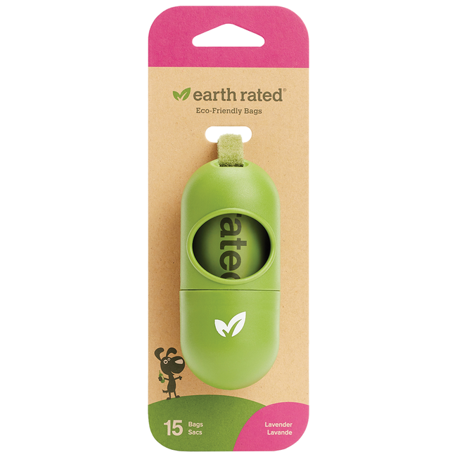 Earth Rated Leash Dispenser with Lavender Roll***Old Style***