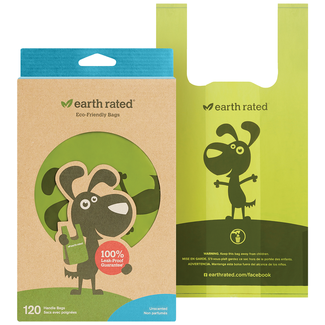 Earth Rated T-shirt Bags 120 Count
