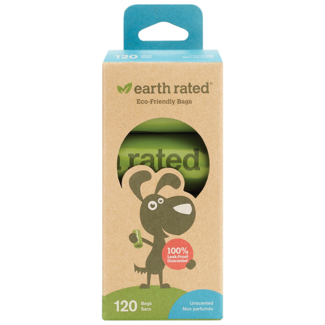 Earth Rated Unscented 8 Roll Pack