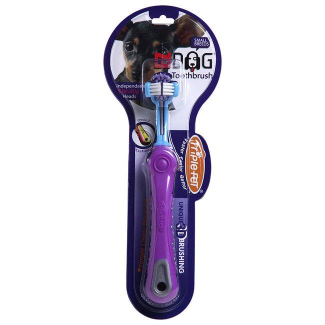 Enviro Fresh Small Triple Pet Toothbrush