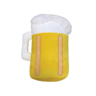Foufou Brands Plush Jumbo Beer