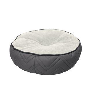 """Dog It 19.5"""" Grey Round Bed"""